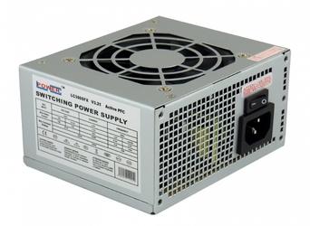 Lc-power zasilacz 300w lc300sfx v3.21 sfx 4x sata 1x pcie