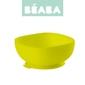 Miseczka silikonowa z przyssawką beaba - yellow