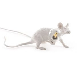 Seletti :: lampa stołowa mouse lie down