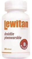 Lewitan tabletki z drożdzy piwowarskich x 200 tabletek 100g