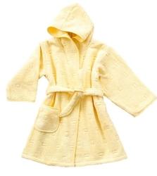 Szlafrok dziecięcy greno żółty - żółty