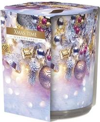 Bispol, sn72s, świeca zapachowa w szkle, świąteczny czas, 1 sztuka