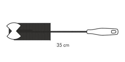 Tescoma szczotka z gąbką clean kit do szklanek