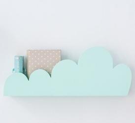 Półka chmurka - miętowa
