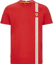 Koszulka scuderia ferrari f1 italian flag czerwona - czerwony