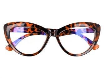 Kocie oczy antyrefleks zerowki okulary panterka 2286d