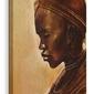 Masai woman ii - obraz na płótnie