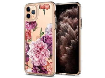 Etui spigen ciel do apple iphone 11 pro max cecile rose floral - róże