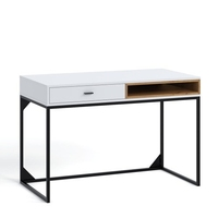 Oskar ol-01 biurko - białydąb artisan