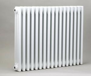Grzejnik pokojowy retro - 3 kolumnowy, 600x800, białyral - biały
