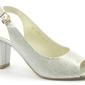 Sandały anis 4340 srebrny