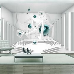 Fototapeta - korytarz geometrii