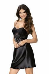 Donna Venus czarna Koszula nocna
