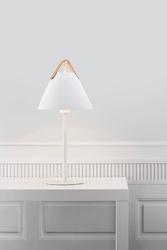 Design for the people :: lampa stołowa strap biała wys. 55 cm