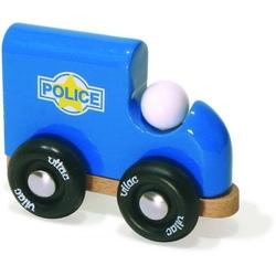 Furgonetka policyjna drewniana 2+ - furgonetka policyjna