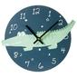 Zegar dziecięcy wiszący 26 cm krokodyl