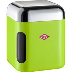 Pojemnik kuchenny z okienkiem zielony Canister Wesco 321202-20