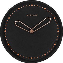Zegar ścienny Cross Nextime czarny 3197 ZW