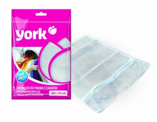 York, woreczki do prania z zamkiem 30x40cm
