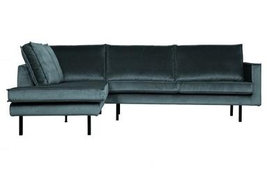 Be pure lewa sofa narożna rodeo turkusowy 800972-198