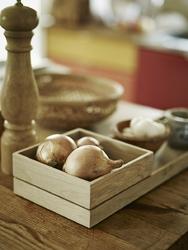 Drewniane pudełko na drobiazgi nomad skagerak 14x14cm s1930231