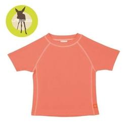 Koszulka z krótkim rękawem splashfun uv 50+ - peach 24mc