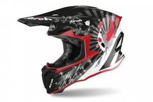 Airoh kask off-road twist 2.0 katana red gloss