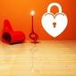 Tablica suchościeralna 006 serce