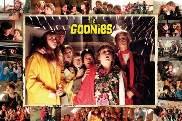 The goonies obsada - plakat