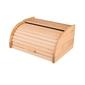 Chlebak mały drewniany kuchenny z żaluzją jasne drewno