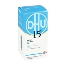 Biochemie dhu 15 kalium jodatum d 6 w tabletkach