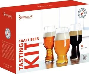 Szklanki do piwa craft beer tasting set 3 szt.