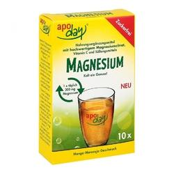 Apoday magnez o smaku owoców mango, bez cukru, saszetki