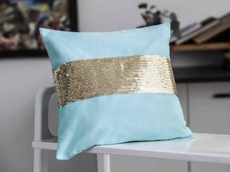Poszewka na poduszkę dekoracyjna altom design sunshine z cekinami 40 x 40 cm