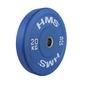 Obciążenie olimpijskie gumowane cbr20 20 kg - hms - 20 kg