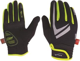 Rękawiczki rowerowe vivo sb-02-1509d- czarno-zielone