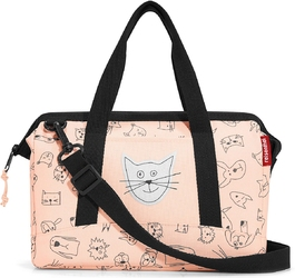 Mała torba allrounder xs reisenthel kids cats and dogs rose riq3064