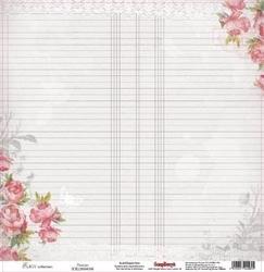 Papier 30,5x30,5 cm elegy - peonies - 08