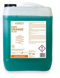 Vc 241 nano orange, skoncentrowany antystatyczny środek do mycia wszelkich powierzchni odpornych na działanie wody, 10l