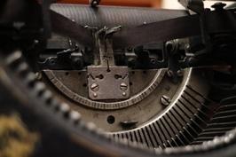 Fototapeta na ścianę retro maszyna fp 5819