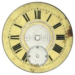 Obraz na płótnie canvas czteroczęściowy tetraptyk rocznik tarczy zegarka 2