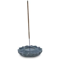 Podstawka do kadzideł kamienna - lotos