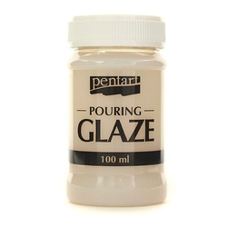 Lakier szklący połysk pouring glaze 100 ml pentart - decoupage