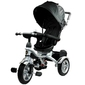 Leantoys pro500 czarny rowerek trójkołowy + prezent 3d