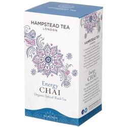 Hampstead | energy chai - herbata czarna z aromatycznymi przyprawami saszetki 40g | organic - fair trade