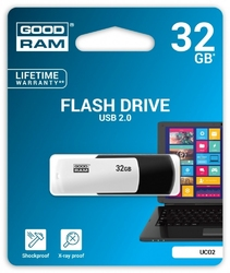 Goodram colour blackwhite 32gb usb2.0