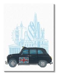 London taxi - obraz na płótnie