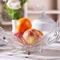 Misa szklana na owoce i łakocie edwanex 25 cm