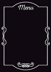Tablica magnetyczna kredowa menu 13