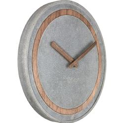 Zegar ścienny concreto nextime 3211